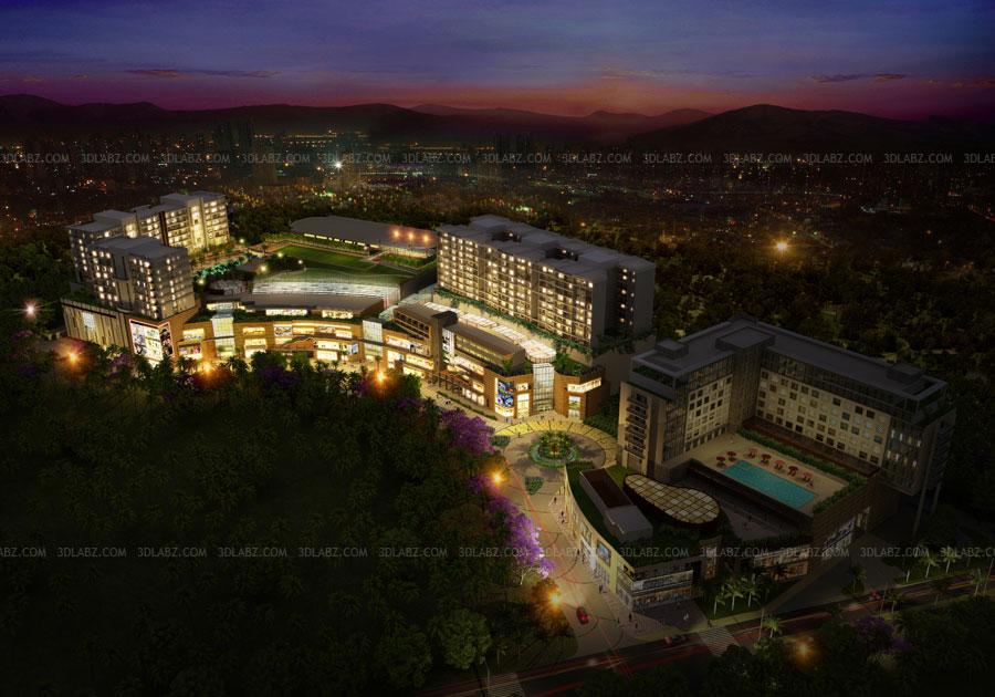 Chennai 3d Rendering Company Phoenix Market City Mall