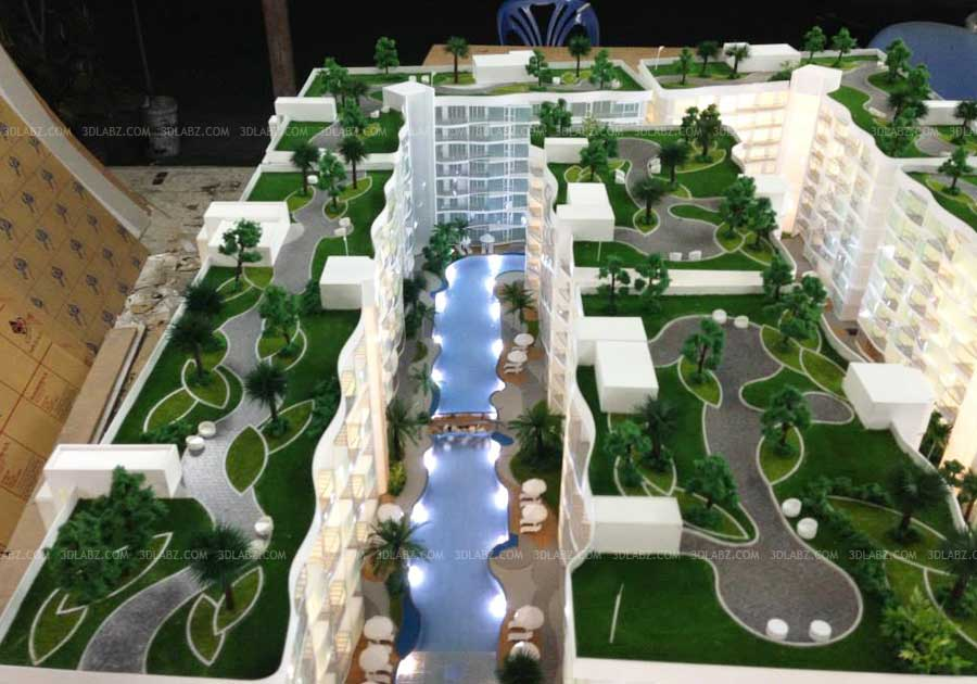 Hotel scale model hotel scale model makers india for Apartment building maker