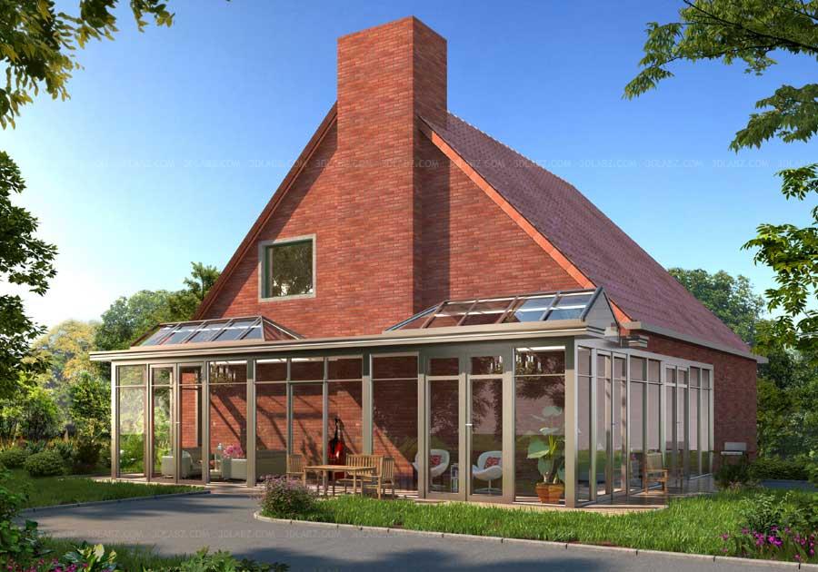 Exterior: Architectural Rendering Belgium