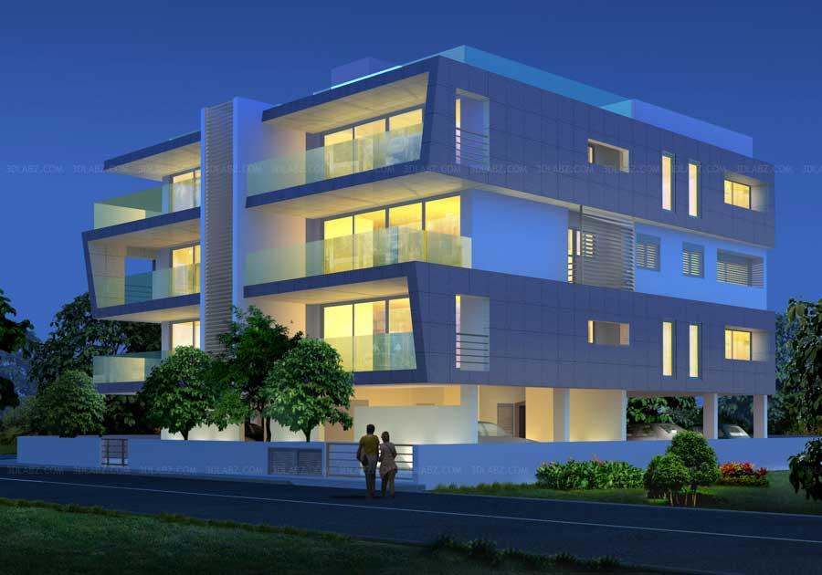Exterior: Cost Building Exterior 3D