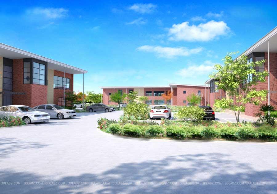 Exterior: Wynyard Business Park UK