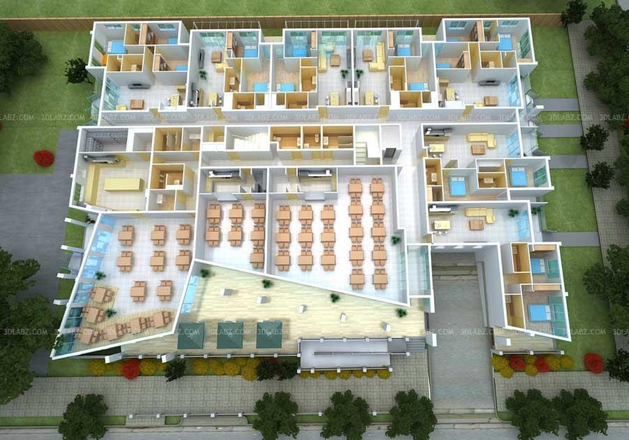 3D Floor Plan for Apartment | 3D Floor Plan Melbourne