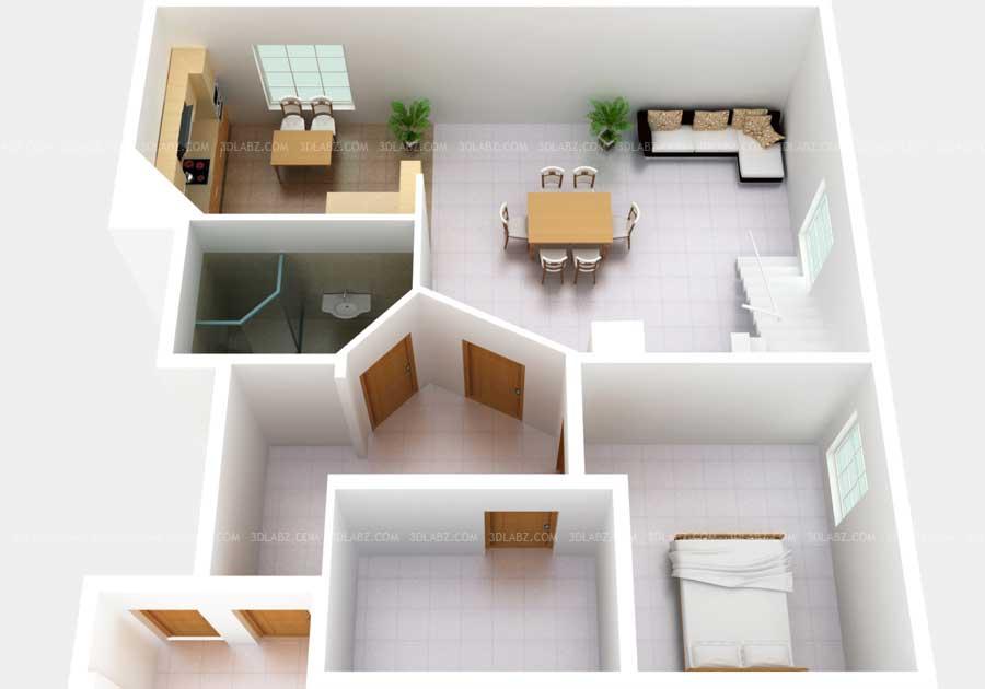 3D Planlsning Norge 3D Floor Plan Norway