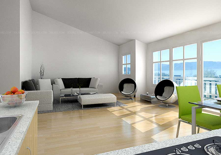 3D Interior Norway