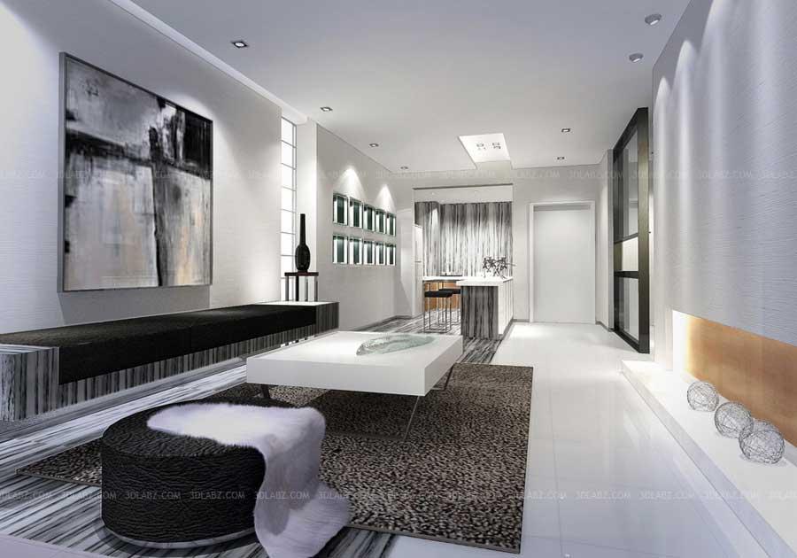 Interior Design Singapore Hotel Lobby 3d Design