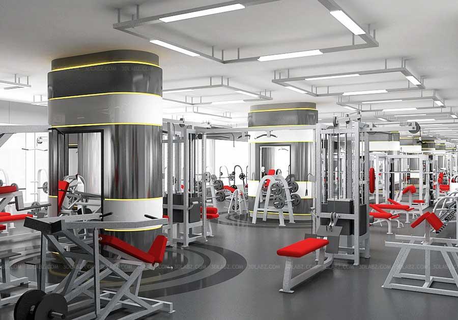 3d rendering fitness centrefitness center hong kong