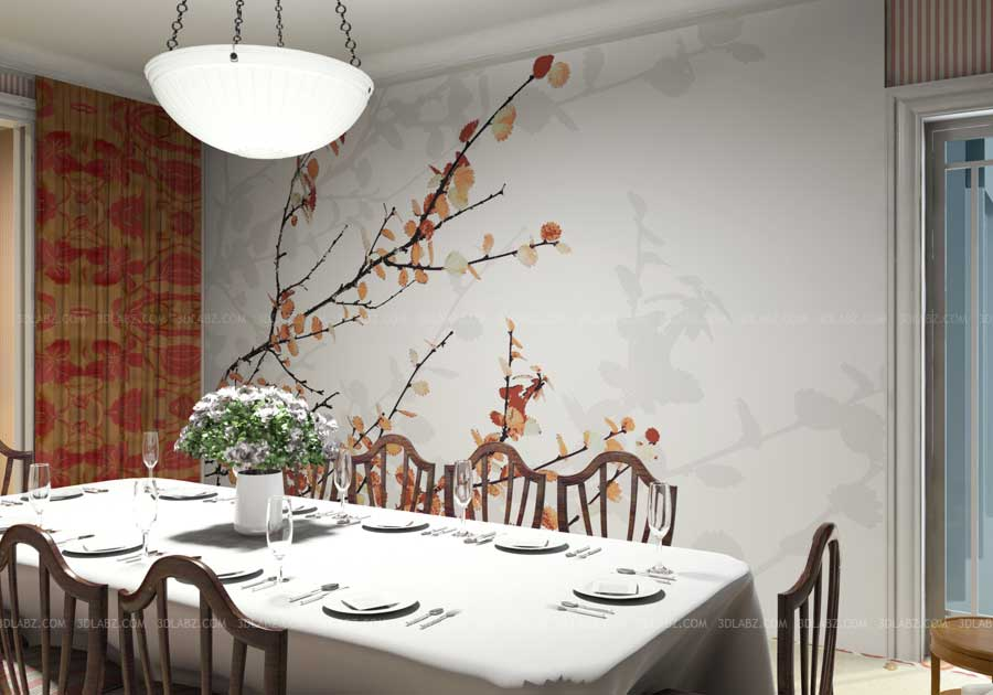 Dining Room Design 3d Rendering Company Cairo Egypt