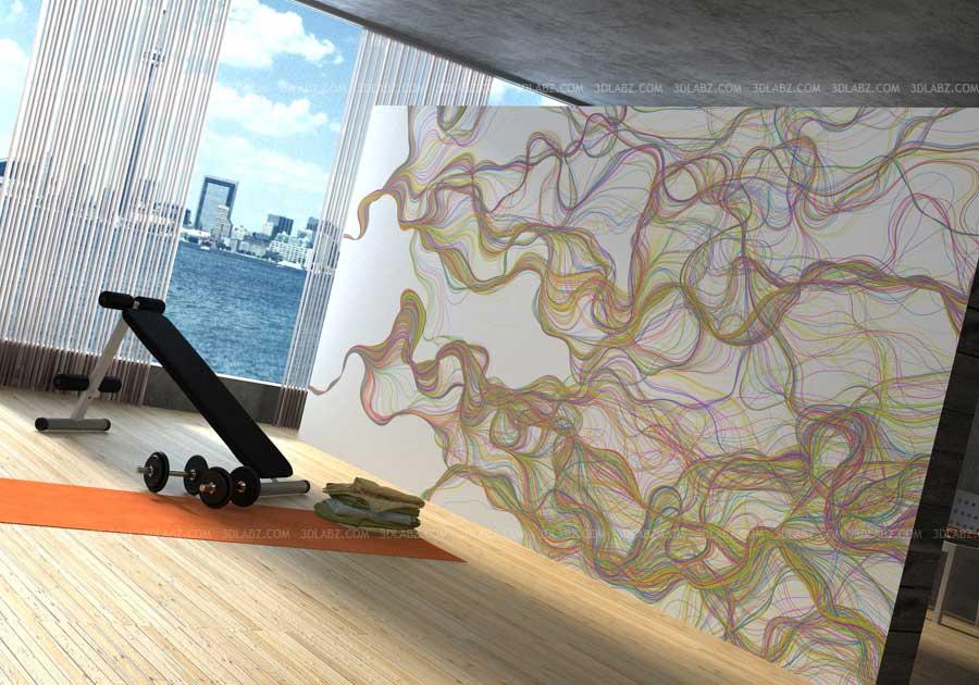 Home gym design d rendering company toronto canada