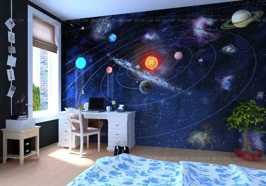 kids room design - 3d Design Bedroom