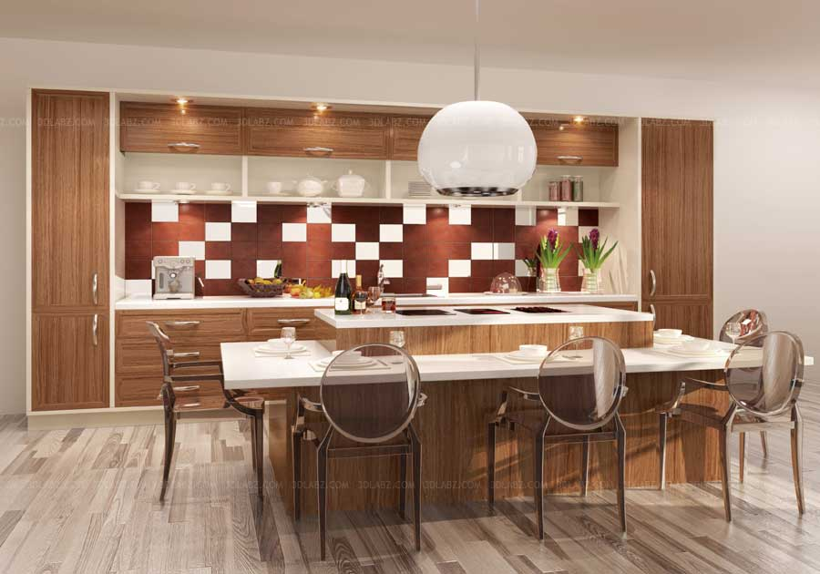 Kitchen Rendering Kitchen 3d Designer Mumbai India