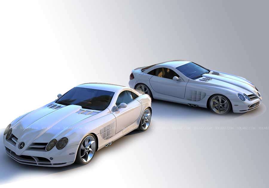 Car 3D Modeling, Rendering and Animation