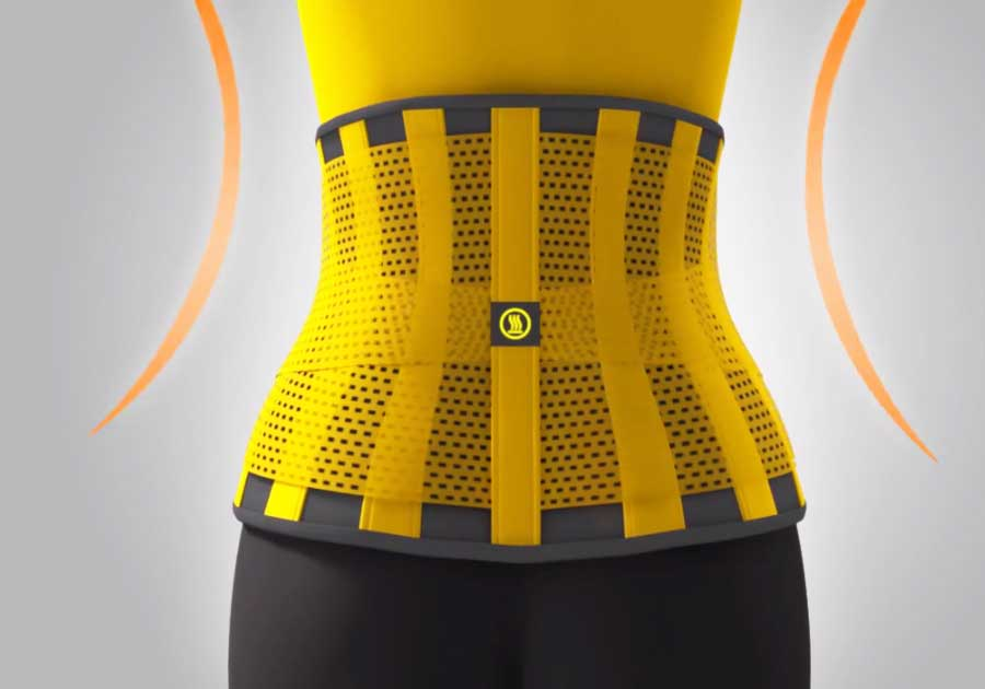 Hot Shapers Slimming Belt Animation